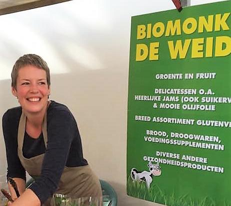 Evelien van Biomonkie in IJsselstein